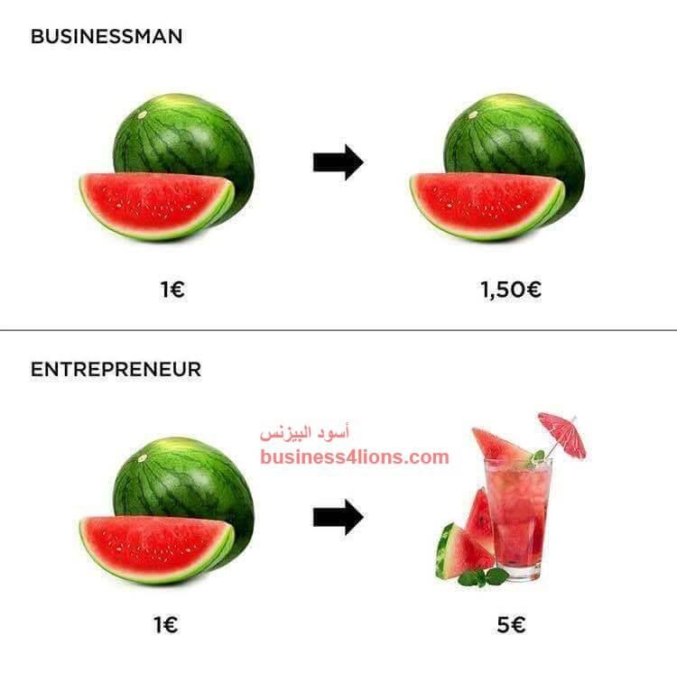 ما الفرق بين رائد الأعمال و رجل الأعمال و صاحب المشروع ؟