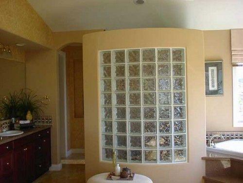 121 فكر مبهرة بالصور لإستخدام الطوب الزجاجى فى الديكور