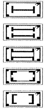 الأعمدة الخرسانية - أشكال وانواع الأعمدة الخرسانية