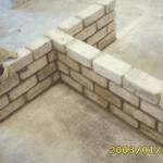 انواع البناء بالطوب - طرق رص الطوب