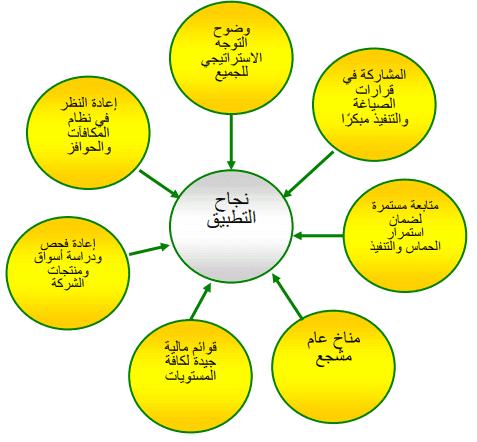 ضمانات وإرشادات عامة انجاح تطبيق الإستراتيجية